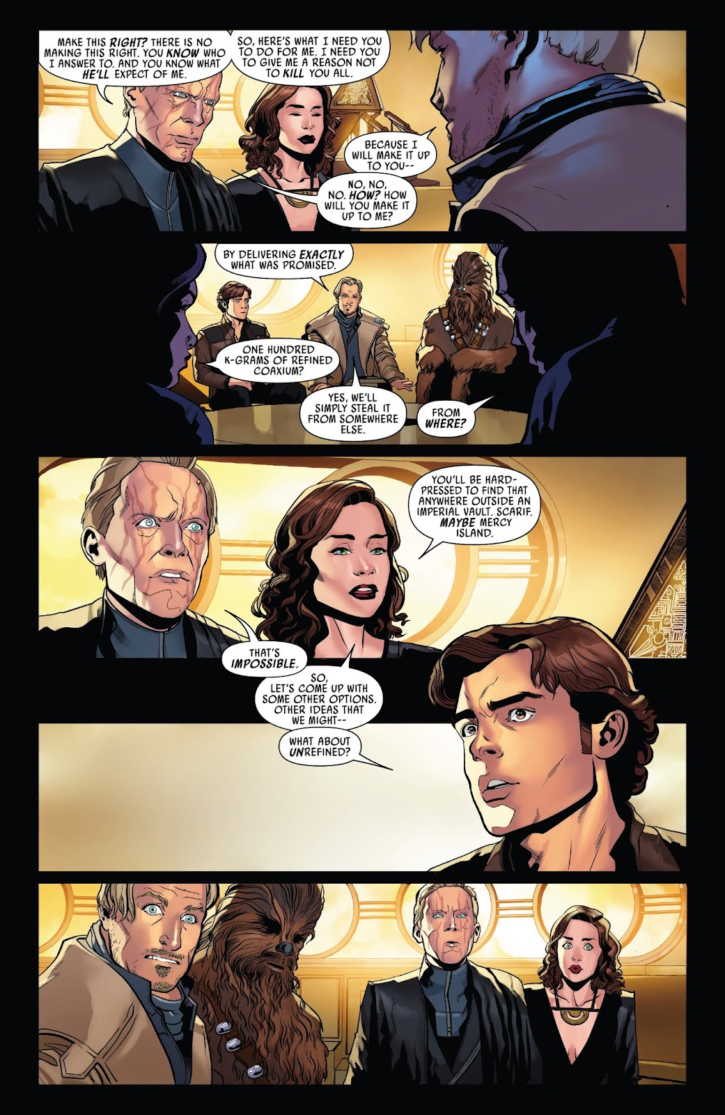 Read online Solo: A Star Wars Story Adaptation comic -  Issue #3 - 8