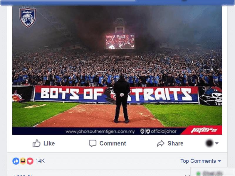 TMJ Menjawab Reaksi Netizen Membidas Kenyataan Berkenaan UMNO PRU14 di Facebook