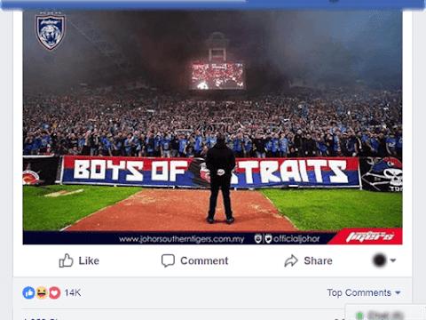 DYAM TMJ Menjawab Pendapat Netizen Isu UMNO PRU14 di Facebook