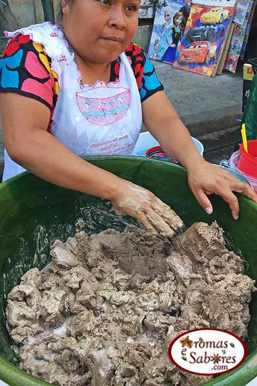 Comida de rua Mexico tejate