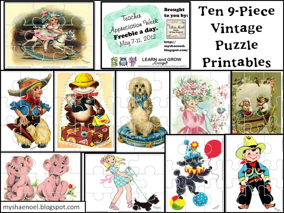 Learn And Grow Designs Website 10 Vintage Children S