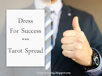 tarot spread for the day ahead dress for success