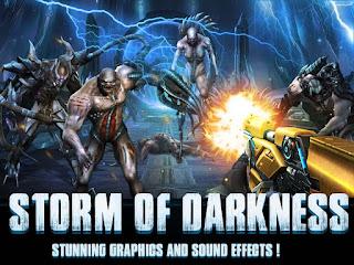 تحميل لعبة الاكشن Storm of Darkness مهكرة للاندرويد
