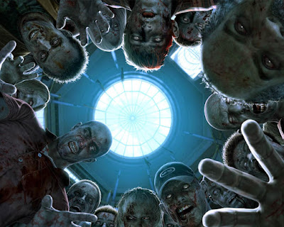 Zombies hovering over you