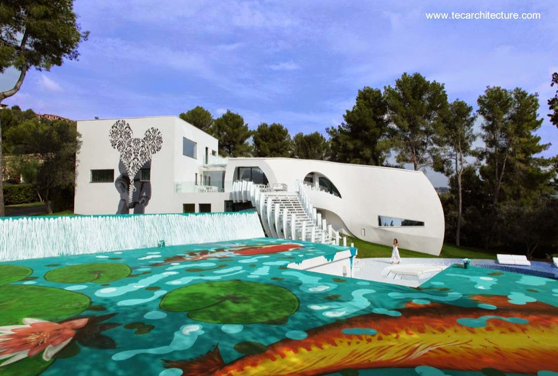 Arquitectura de casas for Casa ultramoderna