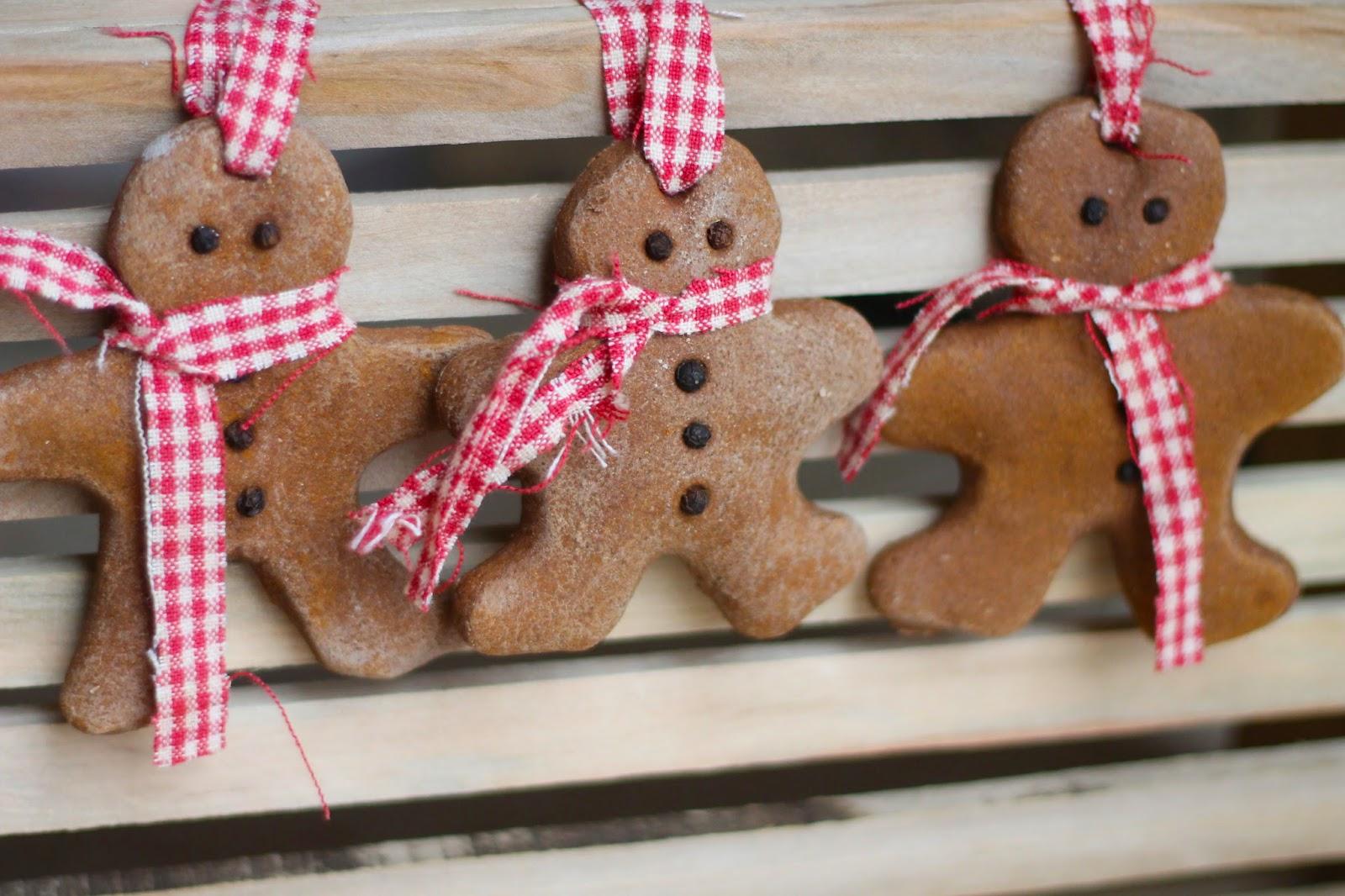 Where Your Treasure Is: Cinnamon Salt Dough Ornaments