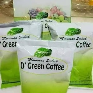 Minuman herbal D'green coffee