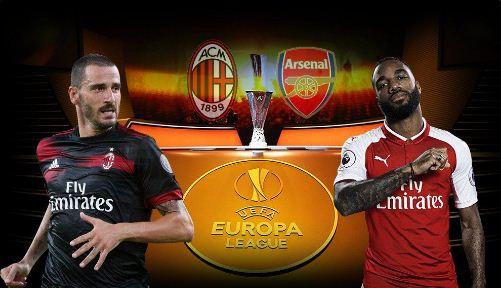 Susunan Pemain AC Milan vs Arsenal - Liga Europa 9 Maret 2018