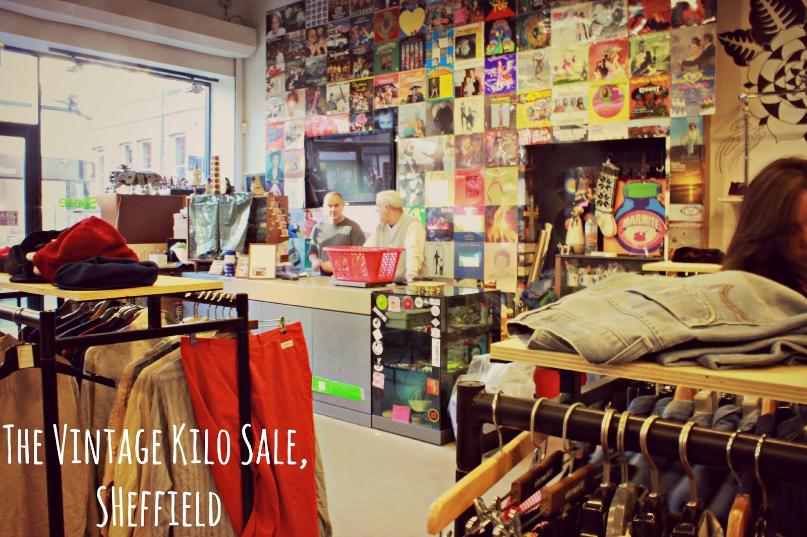 The Vintage Kilo Sale, Sheffield