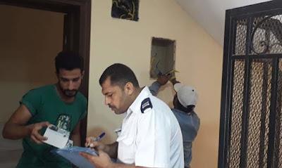 رفع عدادات الكهرباء, غلق الشقق المخالفة فى القاهرة الجديدة,
