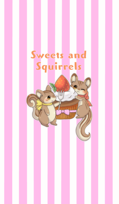 Sweets and squirrels Overseas Version
