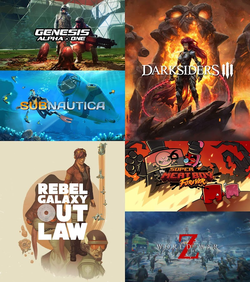 epic games store upcoming game lineup