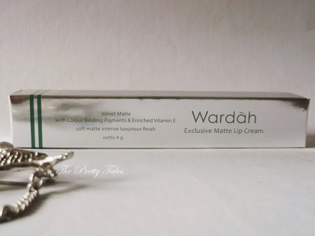 wardah exclusive matte lip cream see you latte 03 review