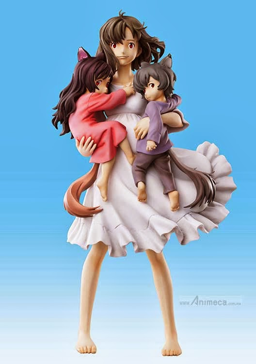 HANA and AME and YUKI Chozo Art Collection FIGURE Wolf Children MEDICOS ENTERTAINMENT