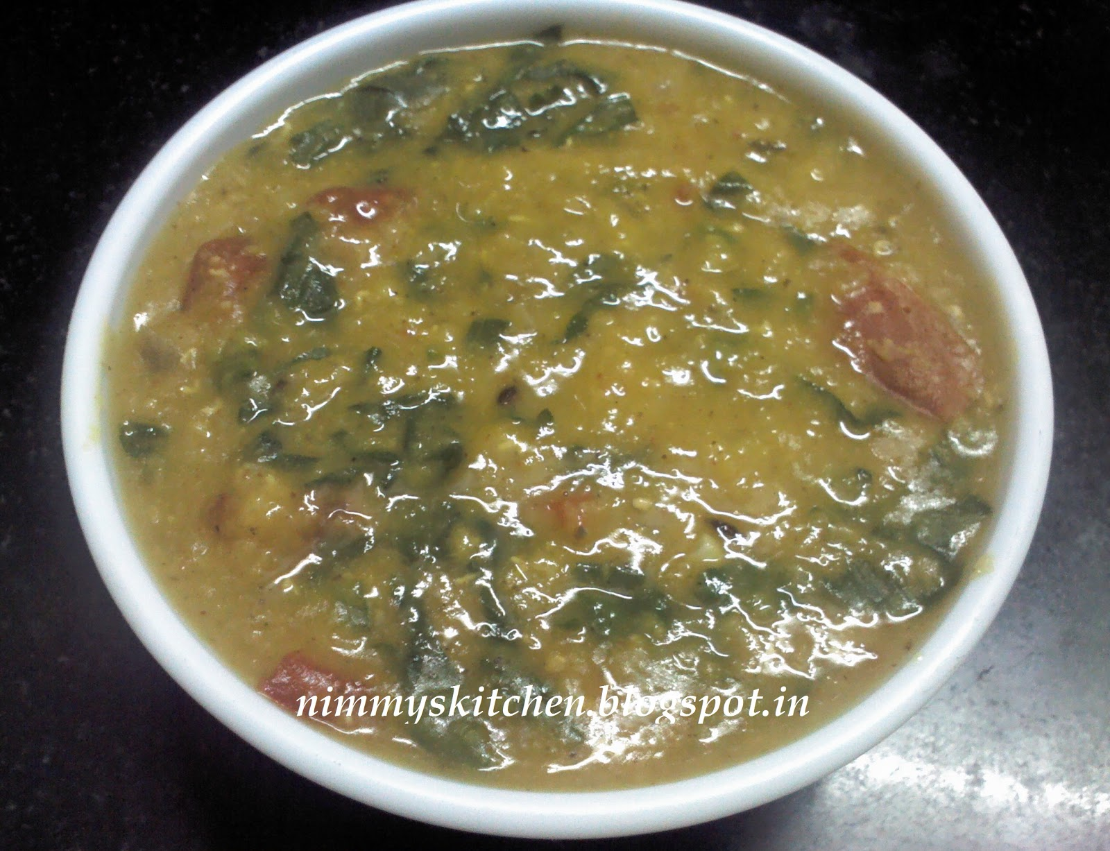 Nimmy S Kitchen Spinach Masoor Dal Curry
