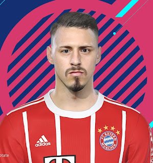PES 2018 Faces Sandro Wagner by Kelvinchan327