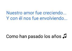 Rocío Dúrcal Como Han Pasado los Años  significado de la canción.