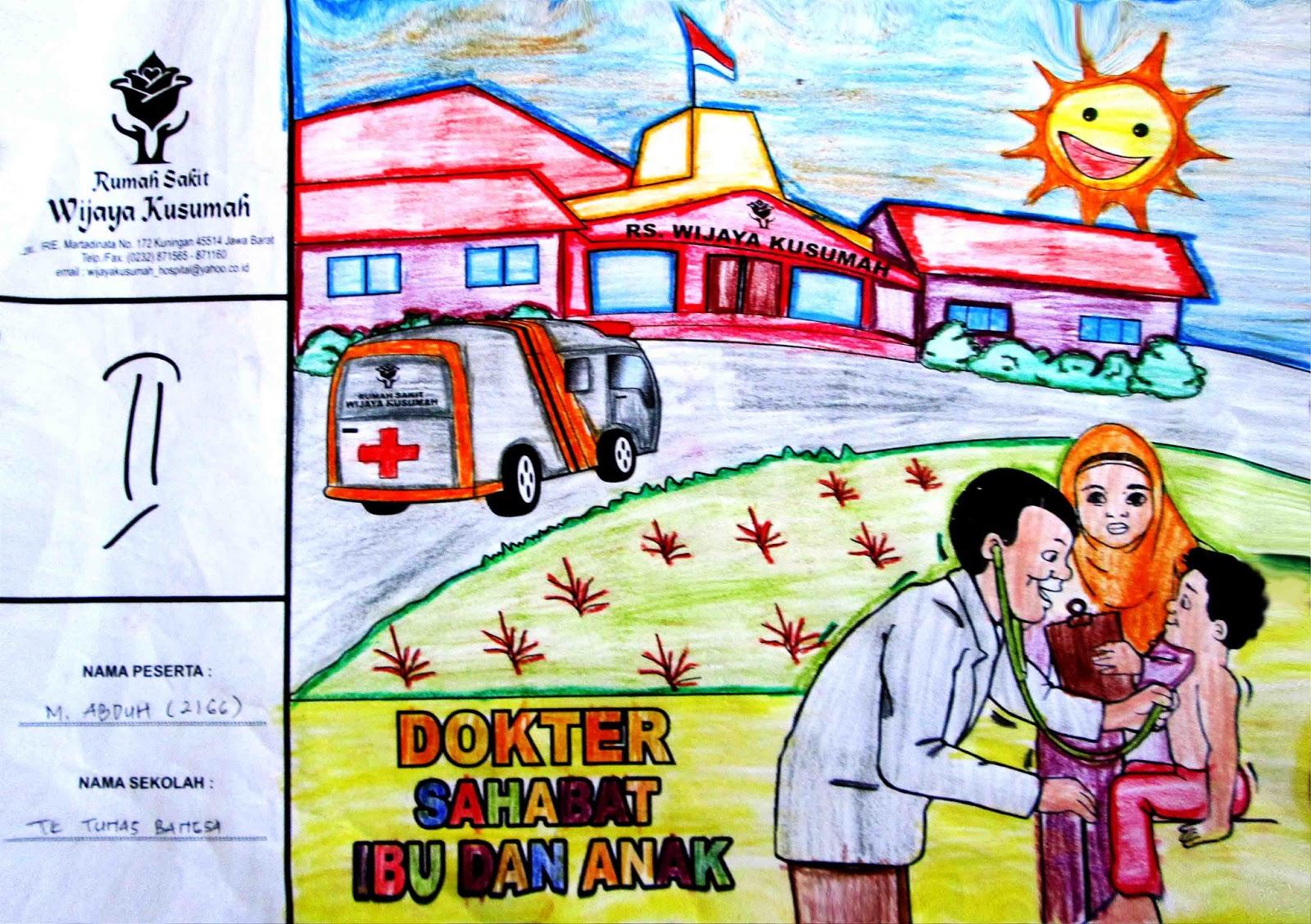 Rumah Sakit Wijaya Kusumah Lomba Mewarnai Tingkat Paud Dan Tk