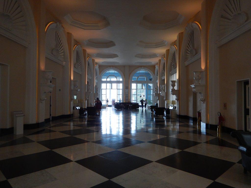 Interior do Palácio Quitandinha em Petrópolis