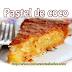Receta de Pastel de coco