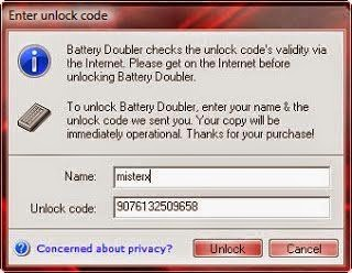 Battery Doubler, Software Penghemat Baterai