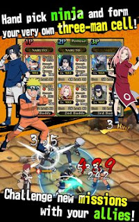 Download game Ultimate Ninja Blazing APK Terbaru 2016 Gratis