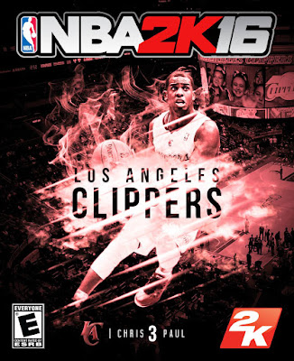 NBA 2K16 Custom Covers - Los Angeles Clippers