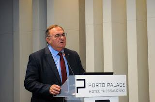 Ο Δημήτρης Καλογερόπουλος στο Σεμινάριο της Ευρωπαϊκής Ενωσης και του Συμβουλίου της Ευρώπης στην Θεσσαλονίκη