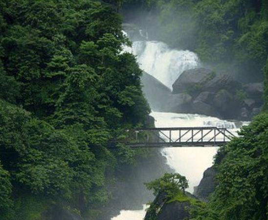 Pangthumai Waterfall in Sylhet