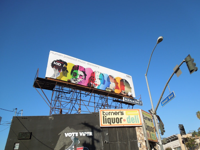 Rdio billboard