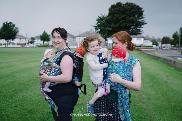 Heartwarming Photo Series Of Mothers Breastfeeding Their Four Children