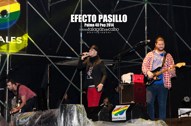 Efecto Pasillo en el Palma 40 Pop 2014. Héctor Falagán De Cabo | hfilms & photography.