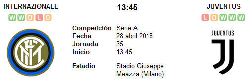 Inter de Milán vs Juventus en VIVO