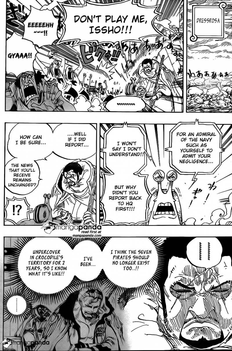 One Piece Ch 793: The Tiger and the Dog