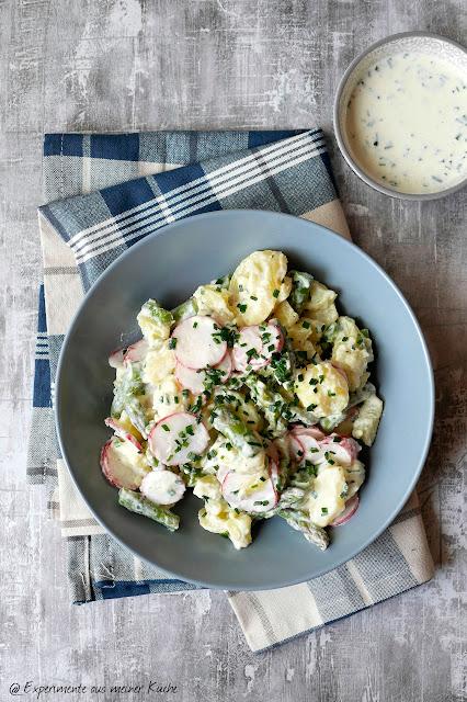 Leichter Kartoffelsalat mit Spargel | Kochen | Rezept | Salat | Weight Watchers