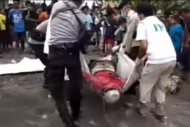 FPI Evakuasi Jenazah Umat Kristen Di Labuan Palu dan Memakamkannya