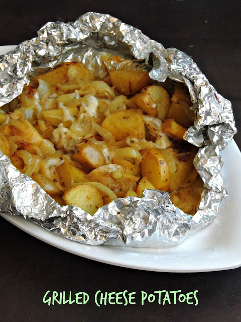 Grilled cheese potatoes