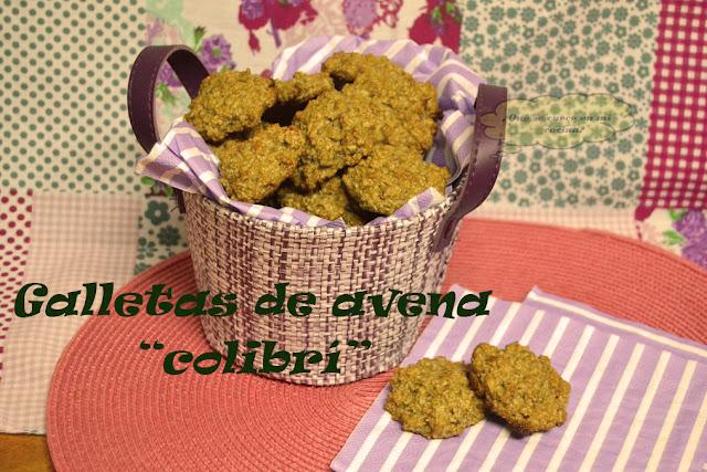"""galletas de avena """"colibrí"""""""