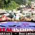 Sampah Yang Bertumpuk Di Jembatan Jalan Sabilillah
