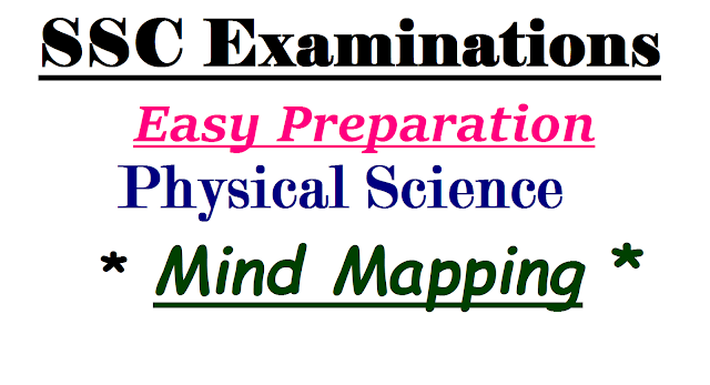 SSC/10th Public Examinations March Preparation Mind Mapping for Science | How to prepare better for SSC Public Examinations | Tips for Preparation for the Public Examinations of SSC | Suggestive method | Plan of action for the Preparation of SSC/10th Public Examinations for Science Physical Science and Chemistry Examinations ssc-public-exams-preparation-mind-mapping-how-to-prepare-for-exams2017/01/ssc-10th-public-examinations-march-preparation-mind-mapping-for-physical-science.html