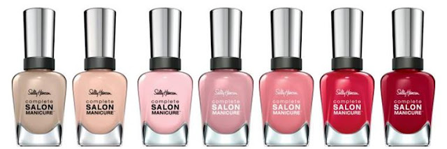 Sally Hansen Complete Salon Manicure Blushed Collection - with swatches!