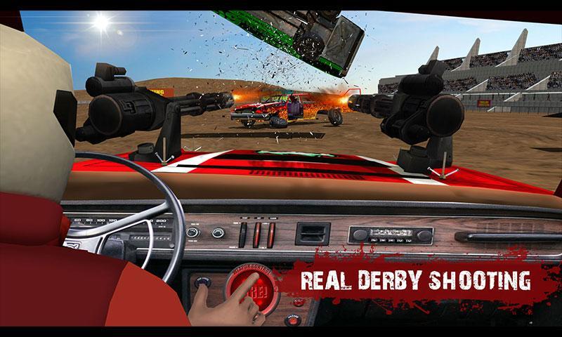 Demolition Derby Real Car Wars MOD APK terbaru