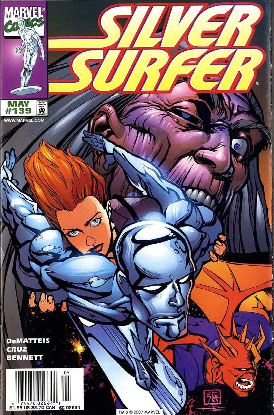 Read online Silver Surfer (1987) comic -  Issue #139 - 1