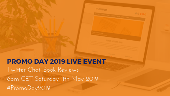 Promo Day Live Event: Twitter Chat - Book Reviews #PromoDay2019