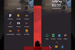 Colorful Black MIUI 10 Theme MTZ Download