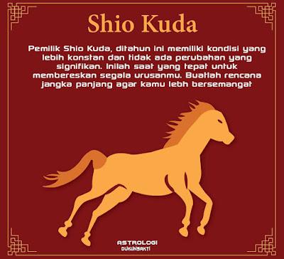 Ramalan Shio Kuda Tahun 2018