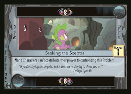 My Little Pony Seeking the Scepter Defenders of Equestria CCG Card