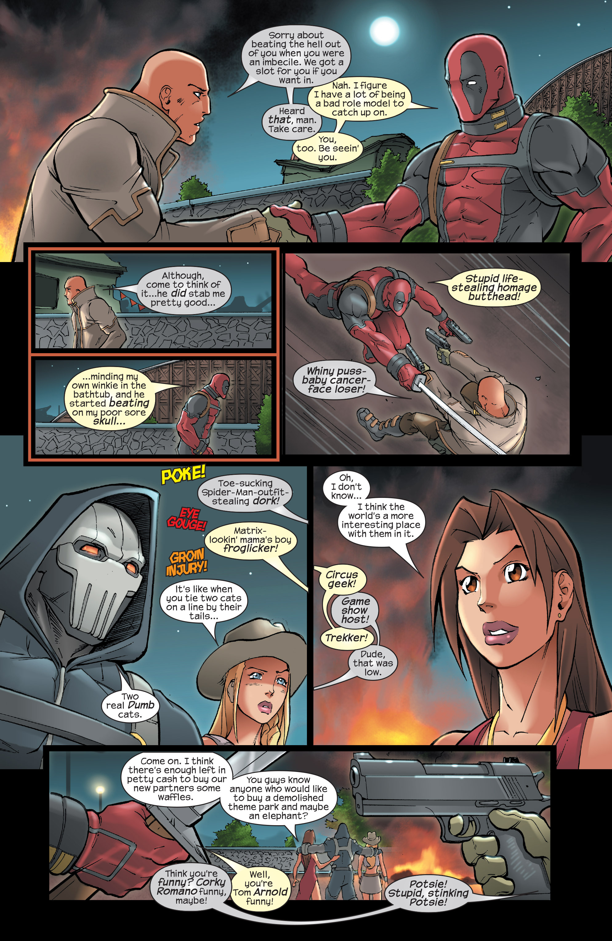 Read online Agent X comic -  Issue #15 - 22