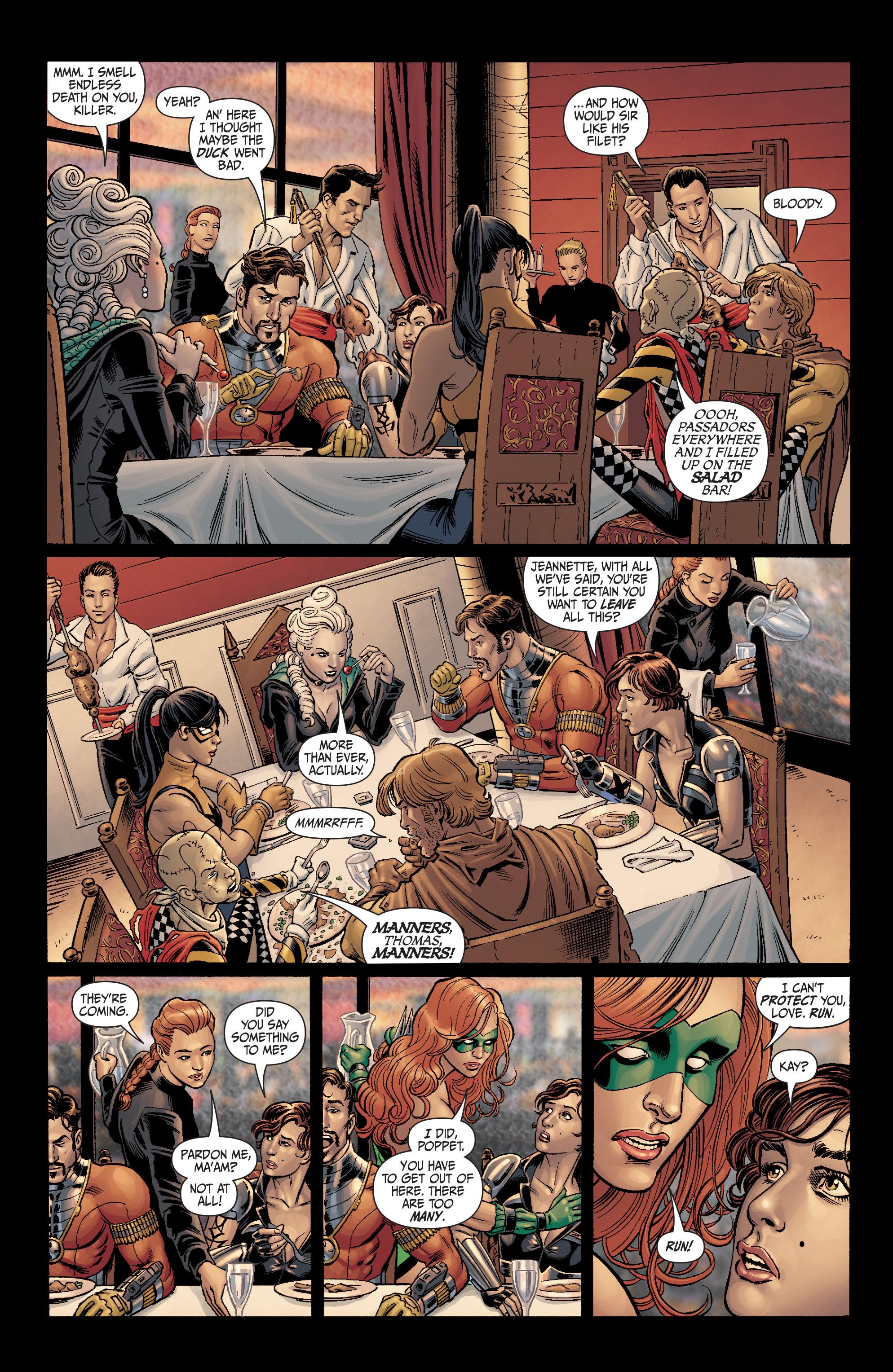 Read online Secret Six (2008) comic -  Issue #4 - 20