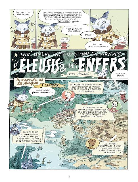 Page de Perséphone de Loïc Locatelli-Kournwsky chez Delcourt